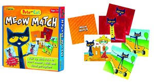 NEW Pete The Cat Meow Match Game
